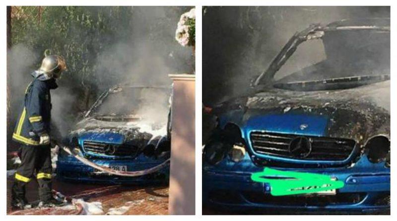 Πυρκαγιά σε ΙΧ στη Γλυφάδα
