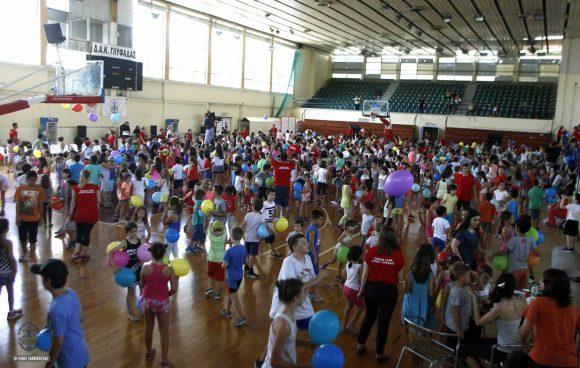 Summer camp στο Δήμο Γλυφάδας