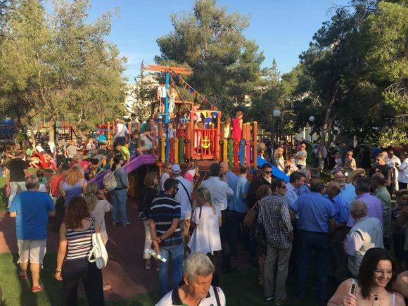 Αργυρούπολη: Λαοθάλασσα στα εγκαίνια του νέου οικογενειακού πάρκου