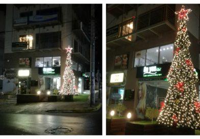 Άλιμος: Be Youtiful Christmas tree