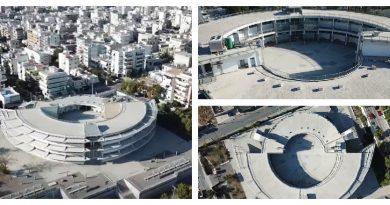 Άγιος Δημήτριος: Το «Στρογγυλό» από ψηλά (drone video)