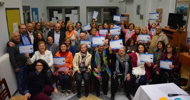 Άγιος Δημήτριος: Τα μέλη των ΚΑΠH έμαθαν αγγλικά