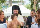 Ο δήμαρχος Καλλιθέας βάπτισε το τρίτο του αγόρι (ΕΙΚΟΝΕΣ)
