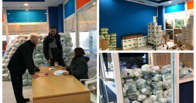 Παλαιό Φάληρο: Το ευχαριστώ του Φωστηρόπουλου για τη διανομή τροφίμων