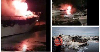 Πανικός στη μαρίνα της Γλυφάδας – Λαμπάδιασαν δύο σκάφη (VIDEΟ&ΕΙΚΟΝΕΣ)