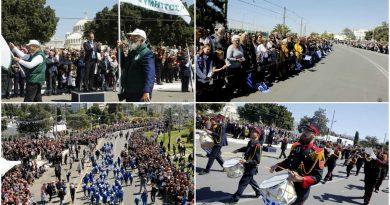 25η Μαρτίου 2019: Η παρέλαση στη Γλυφάδα (ΕΙΚΟΝΕΣ)
