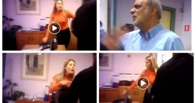 Η «σωματοφύλακας» του δημάρχου και η κίνηση ματ που ανάγκασε σε φυγή τους «Ρουβίκωνες» (VIDEO&ΕΙΚΟΝΕΣ)