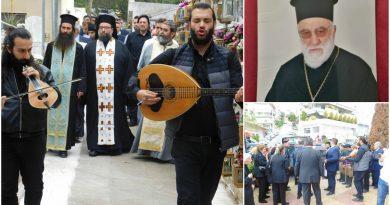 Hλιούπολη: Σε κλίμα συγκίνησης η κηδεία του παπά Μανώλη (ΕΙΚΟΝΕΣ)