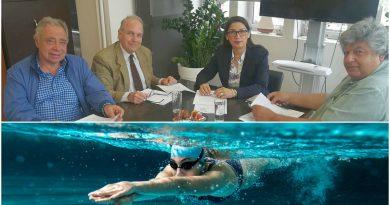 Άγιος Δημήτριος: Υπογράφηκε η σύμβαση για την εκπόνηση μελέτης του κολυμβητηρίου