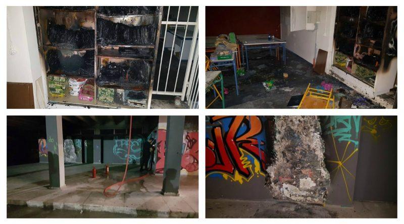 Παλαιό Φάληρο: Εμπρησμός στο 2ο Λύκειο