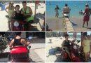 Ο Χρήστος βαθμολογεί το Seatrac, στην παραλία του Αλίμου (VIDEO&ΕΙΚΟΝΕΣ)