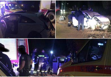 Σοβαρό τροχαίο με τραυματίες στο Πόρτο Ράφτη (ΕΙΚΟΝΕΣ)